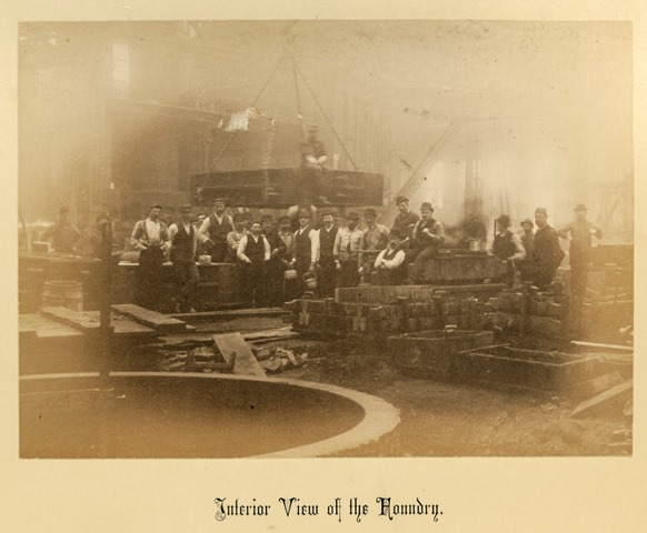 Workers inside the Foundry
