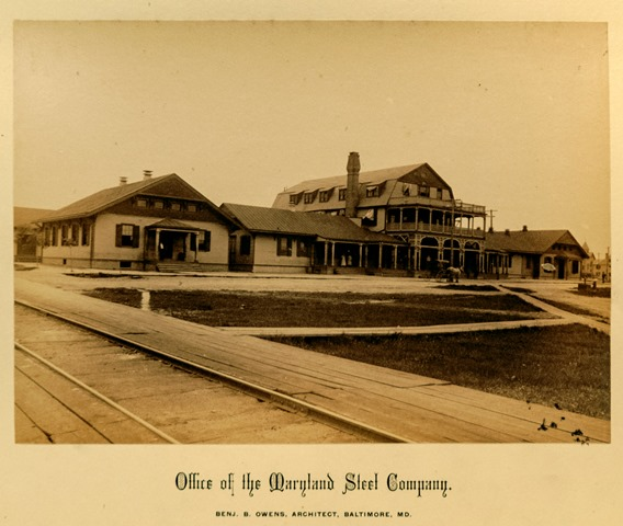 Offices of the Maryland Steel Company