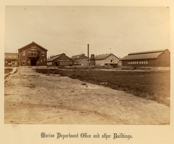 The Marine Department (shipyard) offices