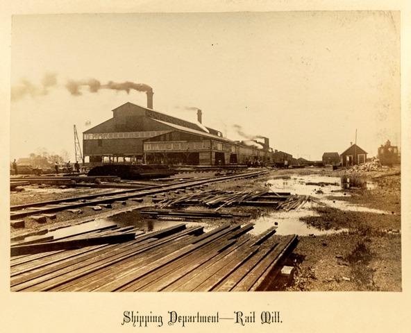 Rail Mill Shipping Department