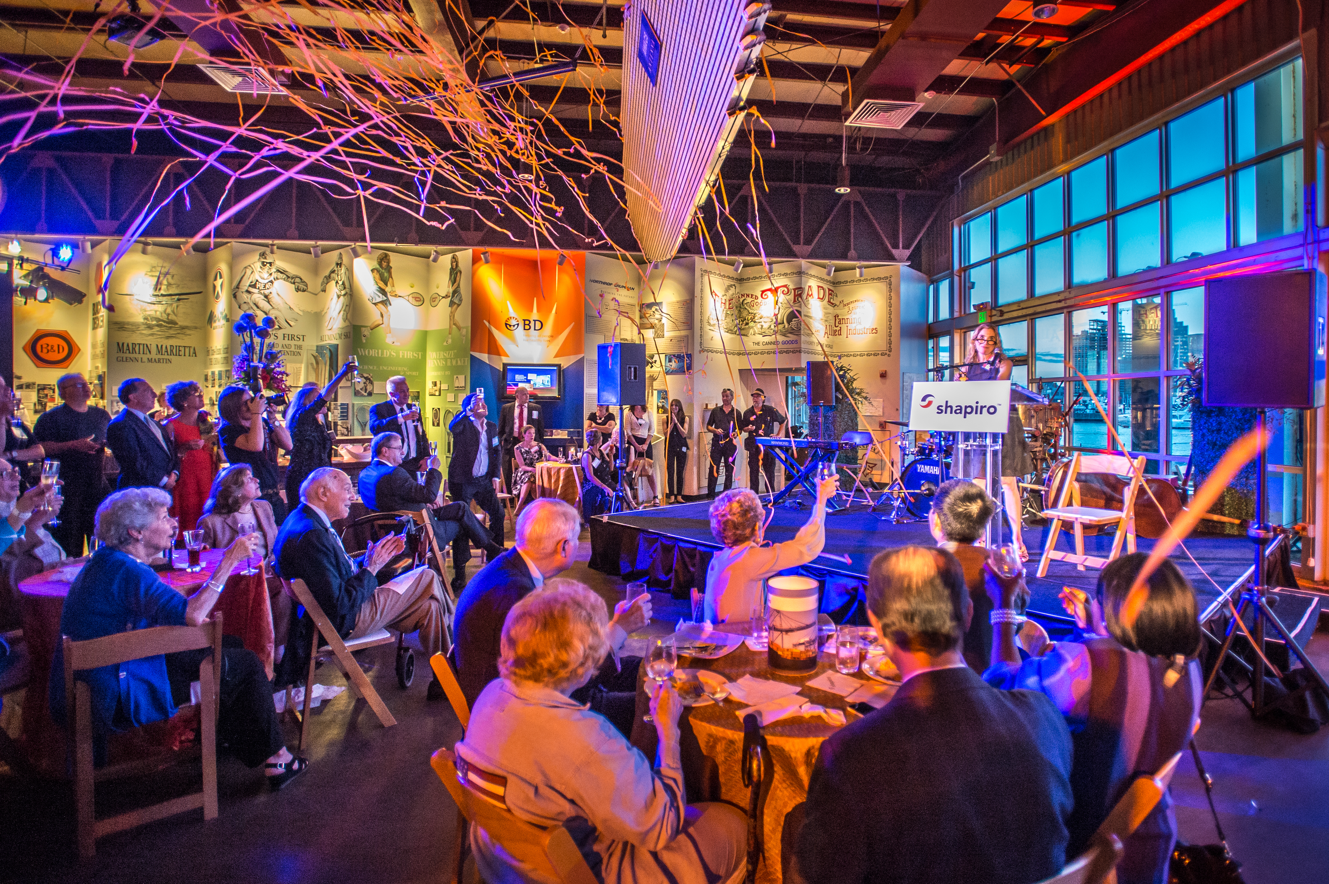 Shipiro 100th Anniversary Party at Baltimore Museum of Industry