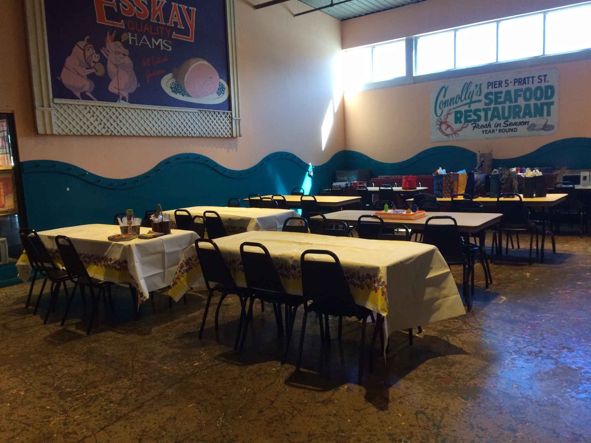 Birthday parties the baltimore museum of industry for Best private dining rooms in baltimore