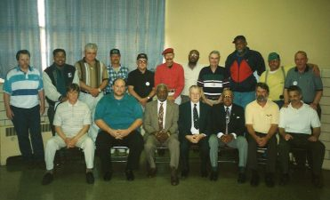 Color image of the officers of Local 2609.